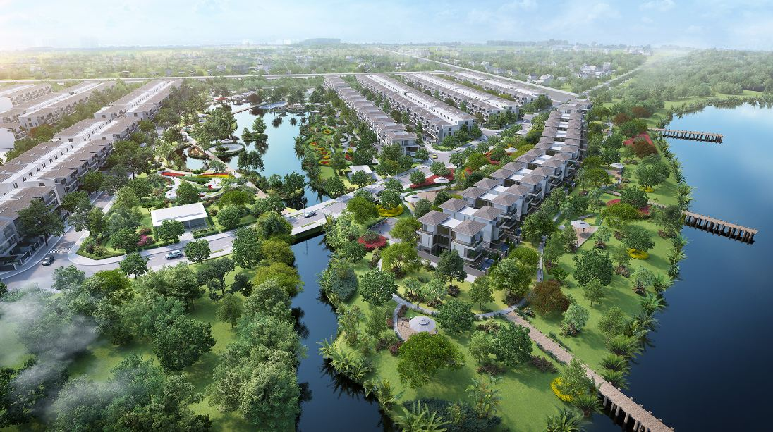 cong-vien-ven-song-du-an-lavilla-green-city-tan-an-3